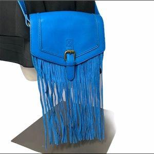 Hibou Crossbody Blue Hobo bag
